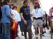 Viggo Mortensen shooting 'Alatriste'