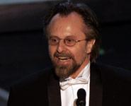 Kaczmarek con el Oscar