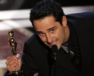 Jorge Drexler con su Oscar